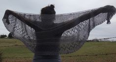 Andrea's Knitting for Sanity: Waiting For Rain - Shawl 2