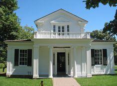 Greek Revival Homes | Greenfield Village - Greek Revival House