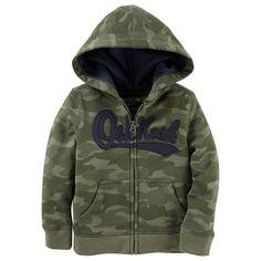 Baby Boy OshKosh B'gosh® Logo Zip Hoodie, Size: 24 Months, Ovrfl Oth