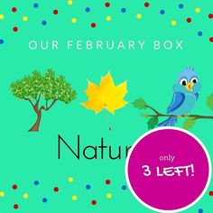 We have 3 of our FEBRUARY NATURE BOX left. We ship on Friday. Get in quick.  Link in bio  #earlylearning #creativekids #preschooler #preschoolerlife #toddler #toddlerlife #toddleractivity #kidscrafts #kidsactivities #montessori #parenting #sahm #wahm #earlychildhood #childhoodunplugged #australia #playideas #boxformonkeys #instahappy #education #familyfirst #qualitytime #kidsgiftideas #subscriptionbox #mum #finemotor #imaginativeplay #cookingwithkids