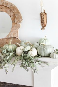 Here's Where To Find Those Sage-Green Pumpkins You're Seeing All Over Pinterest