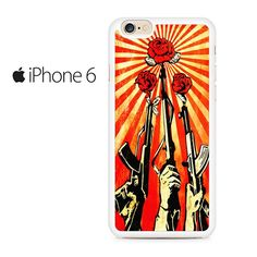 Shepard Fairey Guns And Roses Iphone 6 Iphone 6S Case