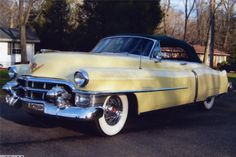 1953 CADILLAC SERIES 62 CONVERTIBLE - 49609