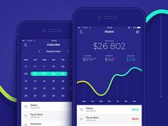 MyWallet is a mobile finance management application. It allows to control personal budget and increase savings efficiency.  Check out full presentation: https://www.behance.net/gallery/34008582/MyW...