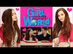 Girl Meets World Middle School Tutorial! Riley's Hair, Makeup & Outfit - YouTube
