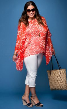 StyleBlazer Curvy Closet: Eloquii by The Limited's Summer 2012 Collection Goes for the Bold (Trade Frumpy for Fierce!) | StyleBlazer