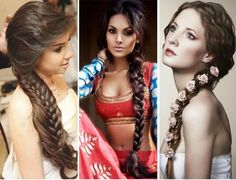 New Indian Bridal Hairstyles Updo Articles 42 Ideas Summer Wedding Hairstyles, Indian Bridal Hairstyles, Bride Hairstyles, Shower Dress For Bride, White Bridal Shower Dress, Bollywood Hairstyles, Bridal Shower Prizes, Bridal Hair Buns, Traditional Hairstyle