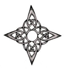 Image result for celtic clover compass