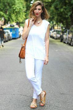 white x white