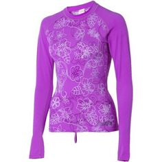 DAKINE Tradewind Rashguard - Long-Sleeve - Women's Lavender, L by Dakine. $23.98. Trade thoughts and trade boards but never trade the location of that secret spot that only you, a few close surf-buddies, and the long-sleeve DAKINE Women's Tradewind Rashguard know about.Product FeaturesMaterial: Lycra (6oz)Insulation: Built-In Bra: noUPF Rating: 50Recommended Use: surfing, wakeboarding, stand-up paddleboarding, kayakingManufacturer Warranty: lifetime. Save 50% Off!