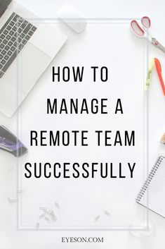 7 Tips for managing a team remotely. A Team, Productivity, Remote, Tips, Pilot, Counseling