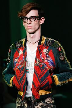 creator of gucci fashion. see all the accessories, jewelry, shoes, purses, and more detail photos from gucci spring 2017 menswear fashion show. creator of