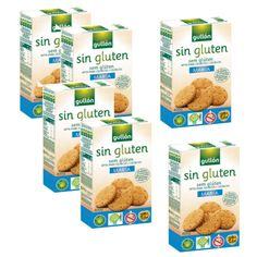 Biscuits sans gluten Maria 400 Grs - Gullón - Lot 6