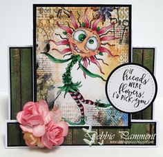 Debbie P's Place: Bloobel Stamps Progressive Challenge - April
