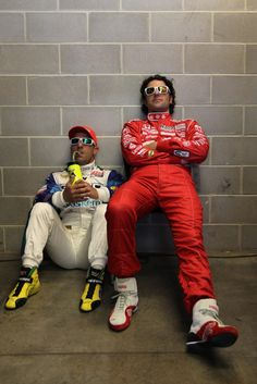 Tony Kanaan and Dario Franchitti.