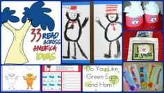 33 Ideas for Read Across America Dr. #Seuss week Round Up by The Teaching Blog Adict