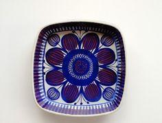 Vintage+Aluminia+Fajance+Tenera+Dish+/+Mid+by+SwedishHeritage,+$60.00