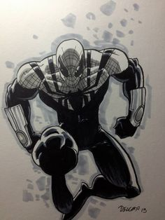 Superior Spider-Man by Edgar Delgado *