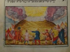 This rare hand-crafted Jewish manuscript dating from 1726 is expected to be bought by a foreign collector after being found in a box in a house in Manchester, England. (The Haggadah is a book read by Jews on the first night of Passover...)