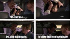 Modern Family- It's like Twilight back here!