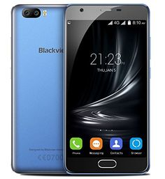 Black Friday Blackview A9 PRO - Android 7.0 4G Smartphone Dual rear camera   Front camera Metal Frame MTK6737 1.3GHz Quad Core 2GB RAM 16GB dual SIM GPS - Blue Deals week 3447