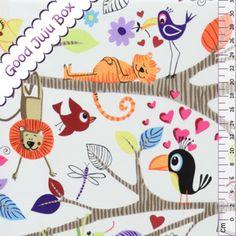 Kinderstoffe - Just Hanging - Alexander Henry - ein Designerstück von Good-Juju-Box bei DaWanda
