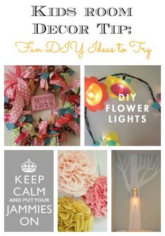 Kids Room Decor Tips: Fun DIY Ideas to Try - plus how to build a kid's media center, creative storage ideas, how to find a focal point, and more.