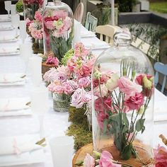 #btbfloralfriday table inspiration from @maryronisevents #weddingflowers #weddingstyling by bridetobemagazine