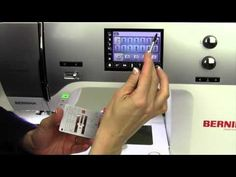 Bernina 770 64 Perfecting Your Quarter Inch Seam - YouTube