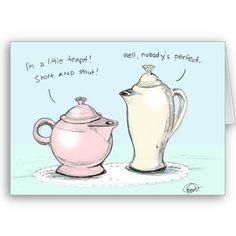 Talking Teapots Card