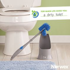 Our Ergonomic Toilet Brush has an antibacterial agent that helps suppress bacteria growth! Pair this with Norwex's Blue Diamond cleaning agent and you have a great duo. You can find these great products @ emilyharris. Norwex Cleaning, Steam Cleaning, Green Cleaning, Spring Cleaning, Cleaning Hacks, Norwex Biz, Cleaning Agent, Norwex Consultant, Organic Cleaning Products