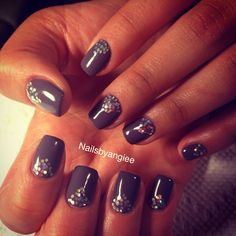 Gel nail design and idea