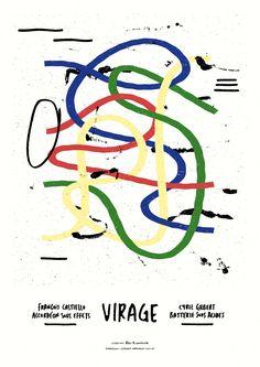 VIRAGE Poster Prints, Posters, Karma, Printing, Graphic Design, Atelier, Poster, Billboard, Visual Communication