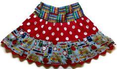 Girl's Back To School Twirl Skirt Back to by KelleenKreations, $25.00