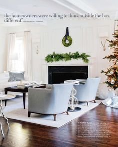 The holidays seem to be approaching more quickly than usual this year. Whether there was time in your busy schedule to adorn your home with holiday delights this past weekend or you have it on your to do list this weekend, there's always room for some inspiration. The mantle is a great place to start adding...