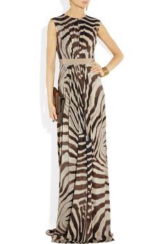 Mroaw! Dress from Giambattista Valli.