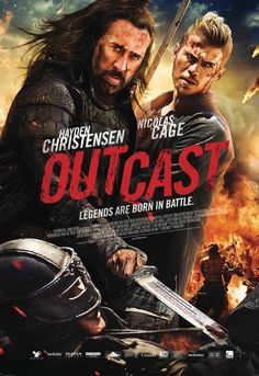 What's Coming To Netflix In August Outcast A prince (Bill Su Jiahang) and princess (Liu Yifei) recruit a European crusader (Hayden Christensen) and outlaw (Nicolas Cage) to help protect them when their older brother targets them for assassination. 2015 Movies, All Movies, Popular Movies, Action Movies, Great Movies, Movies To Watch, Movies Online, Movies And Tv Shows, Movie Tv