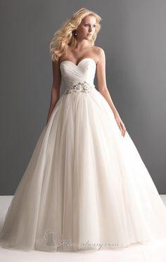 20 Elegant Strapless Wedding Dresses