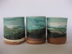 Harbour Rim Vessels by Jane McCulla ceramic artist