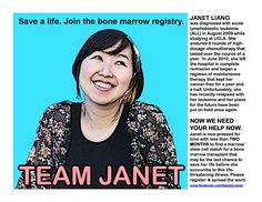 Register today! Help my friend Janet! Find out how: www.facebook.com/helpingjanet