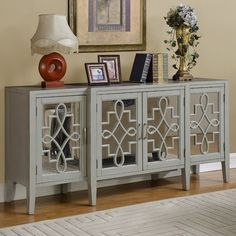 Coast to Coast Imports Manry Mirrored Sideboard & Reviews | Wayfair
