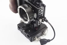 #303-2107 HDMI cable & holder New #Blackmagic Pocket Camera Cage from #Movcam. #bmpcc