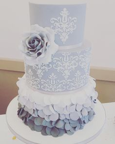 My wedding cake by Cookie Delicious