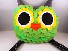 owl pillow plus  B E L L A M I N A ' S  hoot hoot by karensagez, $59.00
