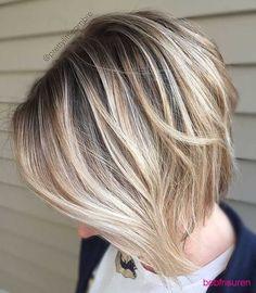 dunkelblond-kurze-frisuren-fur-feine-haare | Bob Frisuren 2017 | Damen Kurzhaarfrisuren und Haarfarben Trends