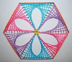 How to Create Parabolic Curves Using Straight Lines. Miss Haberdash: October Free Patterns at String Art Fun. Stitches for prick and stitch cards. Nail String Art, String Crafts, Math Crafts, Diy Arts And Crafts, Arte Linear, String Art Patterns, Math Art, Thread Art, Paper Embroidery