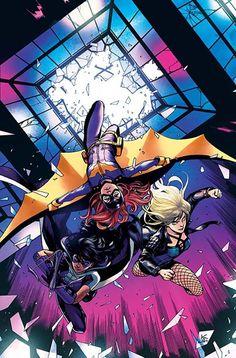 Batgirl and the Birds of Prey Variant - Kamome Shirahama Marvel Vs Dc Comics, Dc Comics Women, Hq Marvel, Arte Dc Comics, Comics Girls, Book Art, Comic Books Art, Comic Art, Comic Movies