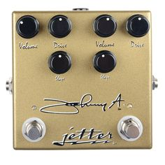 Jetter Gear Johnny A Signature Drive Pedal
