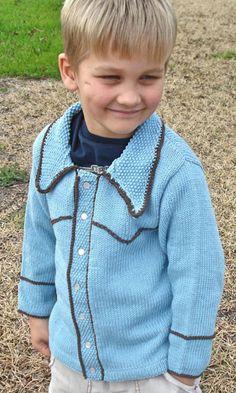 Dark Matter Knits--Elizabeth Green Musselman--Rodeo Kid (18 months - age 5)