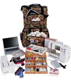 Hemline Premium Two-Bag Trolley Sets at Joann.com